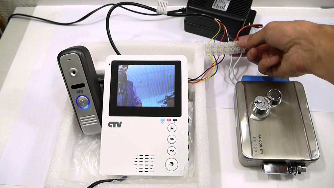 Установка видеозвонка в квартире своими руками фото
