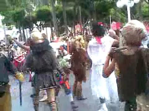 NAOLINCO DANZA DE SANTIAGOS EN VERACRUZ 2009