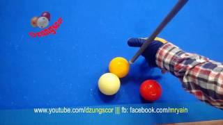 BIDA ONLINE: 당구 Quay chậm Bida Ken - American series slow motion