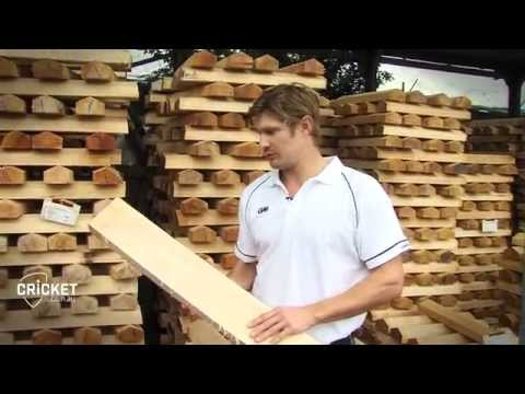 Shane Watson on how a bat is built
