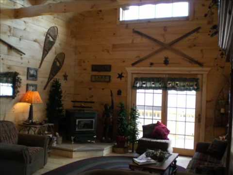 Modular log cabin from Wisconsin