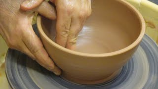 Bowl Demonstration #1 -- using two pounds of clay