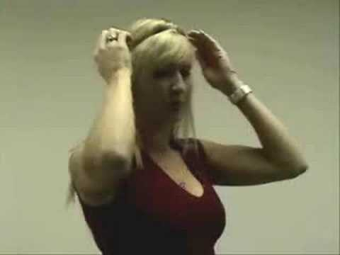 Flip-In Hair Extensions Demo