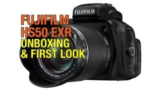 Fuji Finepix HS50 EXR Unboxing & First Look