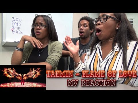 MV Reaction| TAEMIN (テミン) - Flame Of Love