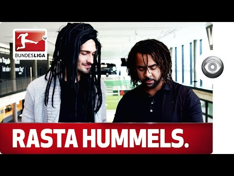 Mysterious Dreadlock Makeover of a World Champion - Owomoyela meets Mats Hummels