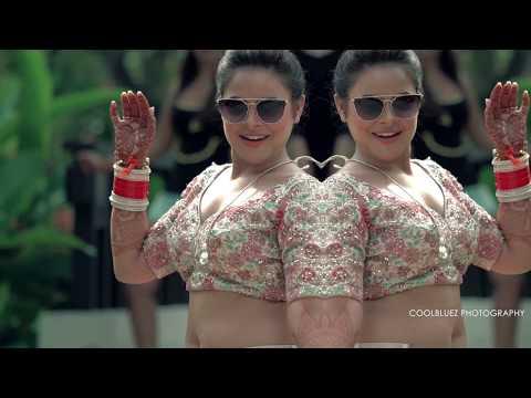 Indian Destination Wedding | Bride getting ready | Huahin Thailand thumbnail