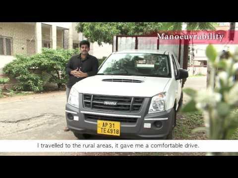 ISUZU D-MAX Customer testimonial - Pratap Varma (Andhra Pradesh)