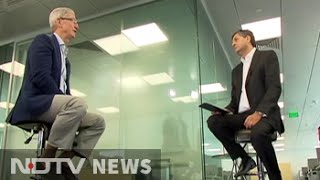 Tim Cook to NDTV: We won't compete on prices, that's not us