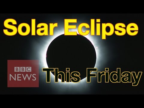 Solar Eclipse: What is it & how to watch it safely - BBC News