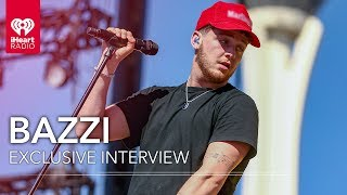 Bazzi Backstage from his Performance at the 2018 iHeartRadio Music Festival on the Honda Stage