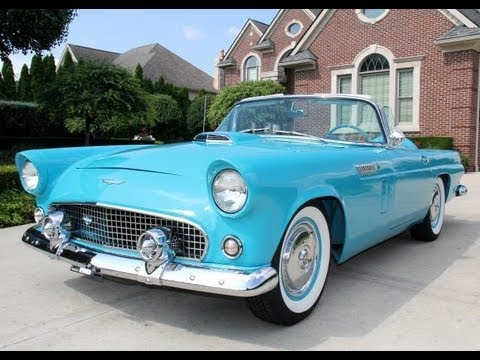 1956 ford thunderbird classic muscle car for sale in mi vanguard motor sales youtube Ford motor auto sales