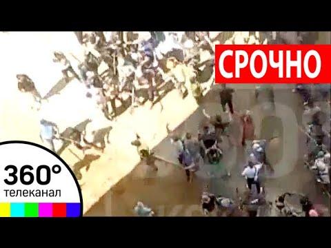 40 строителей-мигрантов с кувалдами и лопатами устроили драку в Новой Москве