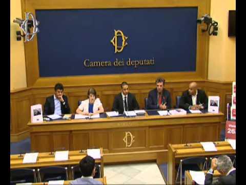 La mobilitazione contro Carlo Tavecchio alla Camera dei deputati (7 agosto 2014)