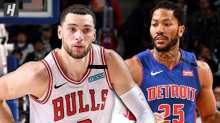 Chicago Bulls vs Detroit Pistons - Full Game Highlights | January 11, 2020 | 2019-20 NBA Season