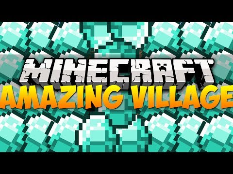 Minecraft Best Seeds - AWESOME VILLAGE | 1.7.4 (HD)