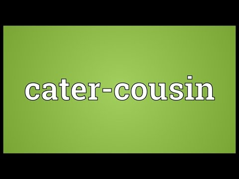 Header of cater-cousin