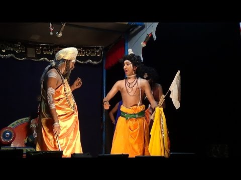 Yakshagana -- Bhaktha Prahalada - 4 - Guru Matta - Hasya - 1 video