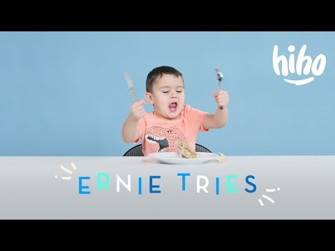Ernie Tries | Kids Try | HiHo Kids