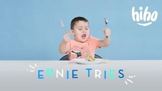 Ernie Tries | Kids Try | HiHo Kids