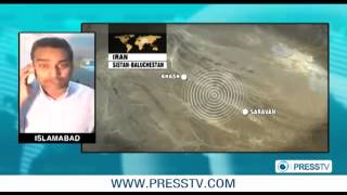 SE Iran strong quake rocks Pakistani border areas