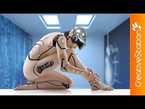 Cyborg criação - Speed art (#Photoshop) | CreativeStation