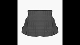 Tesla Model 3 All Weather Trunk Mat Installation