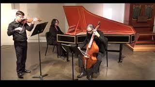 Jacquet de la Guerre Sonata for violin in d minor - Presto