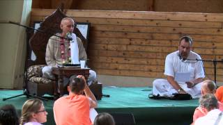 "Seminar ""How the Jiva Fell Down"" HG Sankarsana Das Adhikari, Harmony Park, Lithuania 2014.07.23."