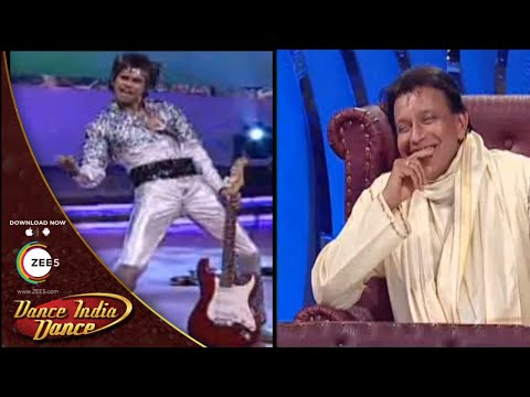 Siddhesh Pal MIND BLOWING TRIBUTE To Mithunda -  Dance India Dance