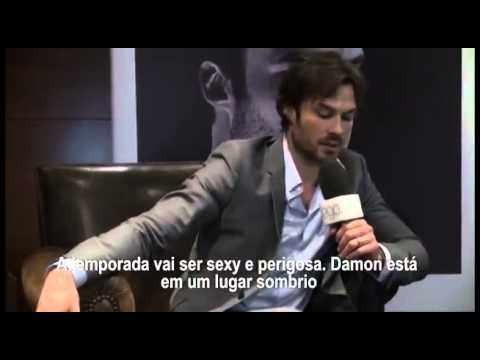Ian Somerhalder responde perguntas de fãs e fala do casamento