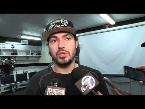 5/12/13 - Post Practice - Drew Doughty