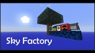 Sky Factory - 2/ Furnace ve Monster Spawner yaptık!