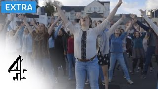 "Frozen ""Let It Go"" Flashmob   Frozen at Christmas   C4"