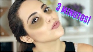 QUÍTATE LAS OJERAS EN 3 MINUTOS! | What The Chic
