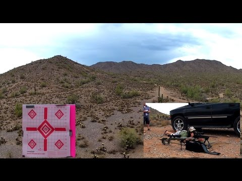 Medium Range Shooting with Aerial Drone POV