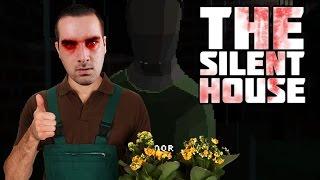 The Silent House Demo Ending | Pixel Horror Game- EVIL PLANTS?!