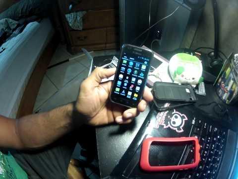 Samsung Galaxy S Vibrant CM10 Jelly Bean Test Build