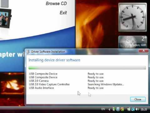 Installing Easycap DC60 Drivers On 32bit Vista Service Pack 2
