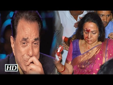 Dharmendra Reacts on Hema Malini's Car Accident