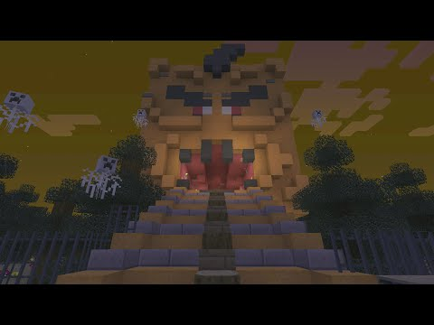Minecraft Xbox 360 Haunted Hollows Puzzle Map 1