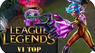 TROLLIG UND TROTZDEM STARK! VI TOP | League of Legends Gameplay deutsch