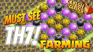 Clash Of Clans - TH7 FARMING BASE BEST TOWN HALL 7 Defense 2015