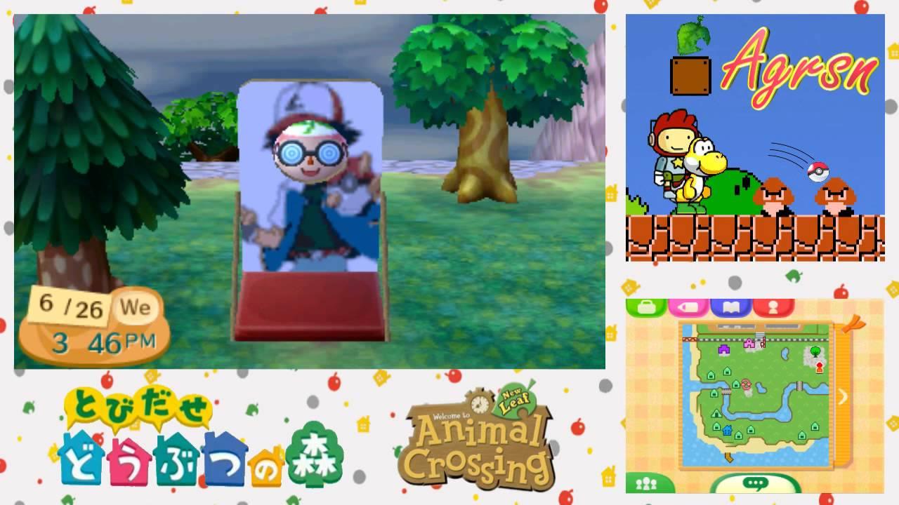 Qr Codes Animal Crossing New Leaf Paths AC: New Leaf w/...
