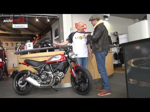 Ducati Scrambler Icon | Interview beim Lietz