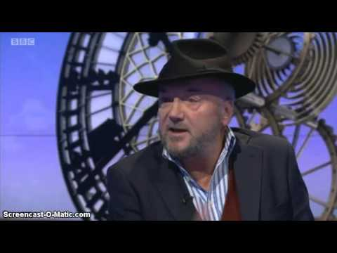 George Galloway Talks On Bombing Syria & Jeremy Corbyn , Sunday Politics