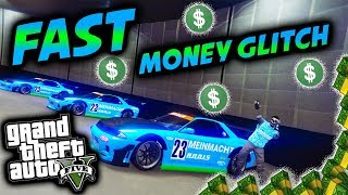 *FAST*UNLIMITED MONEY GLITCH*WORKING*CAR DUPLICATION GLITCH*MAKE MONEY FAST*GTA 5 ONLINE 1.42