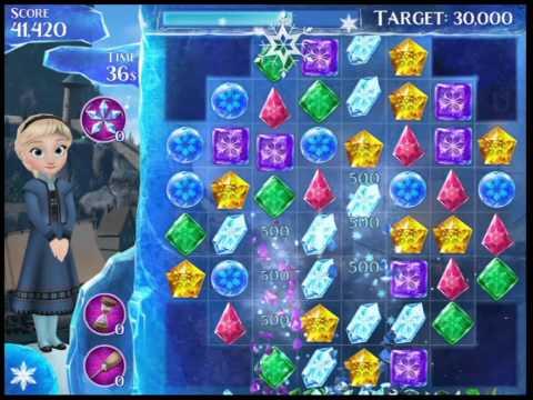 Frozen Free Fall - Level 18 Walkthrough