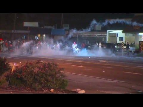 Violence erupts in Ferguson