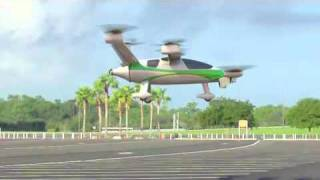 NASA Samarai hybrid-electric VTOL personal-aircraft concept